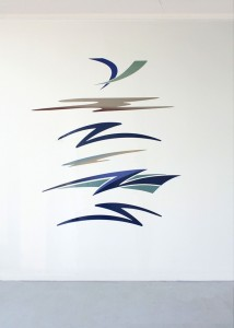 """Swoosh Composition"" - from: http://www.michaelbellsmith.com/work/swoosh-composition/"