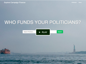 Explore Campaign Finance crowdfunding video by Solomon Khan