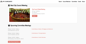 First-ever open data source for city council events. Let's do this.